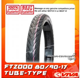 VIVA TUBE-TYPE TYRE FT2000 80/90-17
