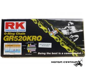 RK GOLD O-RING CHAIN GR520KRO X 120L