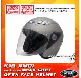 KHI HELMET K18 NM01 GREY