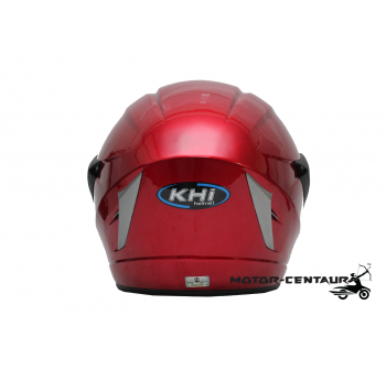 KHI HELMET K18 NM01 CANDY RED