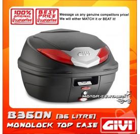 GIVI MONOLOCK TOP CASE (WITHOUT BRAKE LIGHT) B360N BLACK