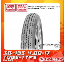 SWALLOW TUBE-TYPE TYRE SB-135 CLASSIC 4.00-17