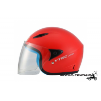 LTD VTEC JUNIOR VISOREX HELMET RED