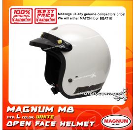 MAGNUM M8 HELMET WHITE