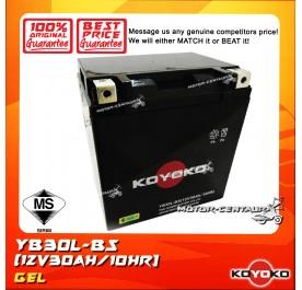 KOYOKO GEL BATTERY YB30L-BS / YIT30L-BS