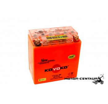 KOYOKO G2 NANOGEL BATTERY YTX14L-BS