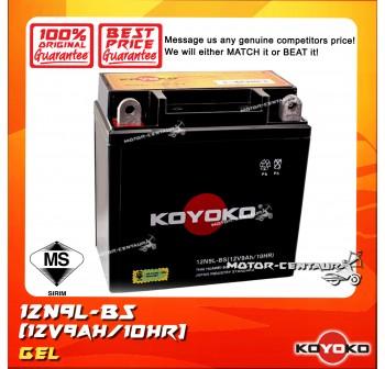KOYOKO GEL BATTERY 12N9L-BS
