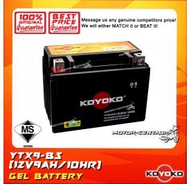 KOYOKO GEL BATTERY YTX9-BS