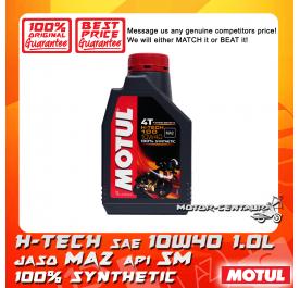 MOTUL 4T ENGINE LUBRICANT H-TECH 100 10W40 1.0L