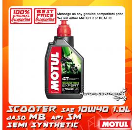 MOTUL 4T ENGINE LUBRICANT SCOOTER EXPERT 10W40 1.0L