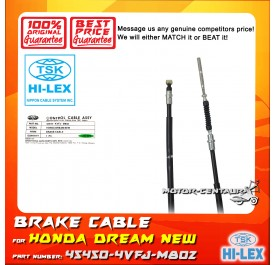 TSK FRONT BRAKE CABLE 45450-KVFJ-M802 FOR HONDA DREAM NEW KVFJ