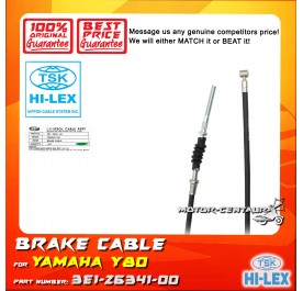TSK FRONT BRAKE CABLE 3E1-26341-00 FOR YAMAHA Y80
