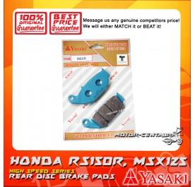 YASAKI DISC BRAKE PAD MSXR RS150R MSX125