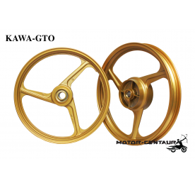 KAWA-GTO SPORT RIM 333 1.40X17(F) 1.60X17(R) Y135LC GOLD