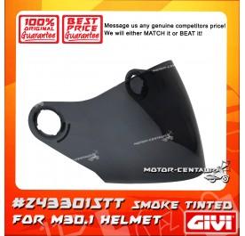 GIVI VISOR FOR M30.1  HELMET (#Z43301STT) SMOKE TINTED