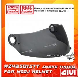 GIVI VISOR FOR M50.1 HELMET (#Z43501STT) SMOKE TINTED