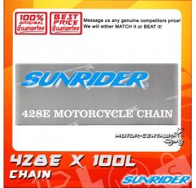 SUNRIDER CHAIN 428 X 100L