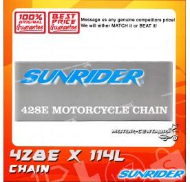 SUNRIDER CHAIN 428 X 114L