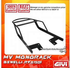 GIVI MONORACK MV BENELLI RFS150I