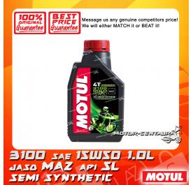 MOTUL 4T ENGINE LUBRICANT 3100 GOLD 15W50 [1.0L]