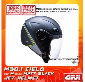 GIVI JET HELMET M30.1 CIELO M MATT BLACK