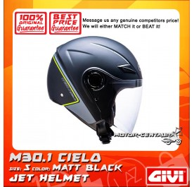 GIVI JET HELMET M30.1 CIELO S MATT BLACK