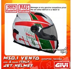 GIVI FULL FACE HELMET M50.1 VENTO S GRAPHIC TECHNO ITALY