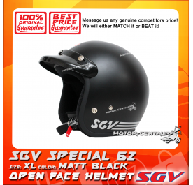 SGV HELMET SPECIAL62 MATT BLACK