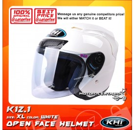KHI HELMET K12.1 WHITE XL
