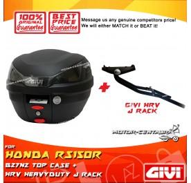 GIVI B27N2 TOP CASE + GIVI HONDA RS150R HRV HEAVY DUTY RACK