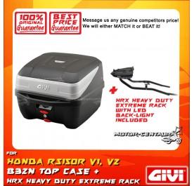 GIVI B32N TOP CASE + GIVI HONDA RS150R HRX HEAVY DUTY EXTREME RACK