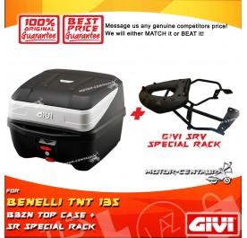 GIVI B32N TOP CASE + GIVI BENELLI TNT 135 SR SPECIAL RACK