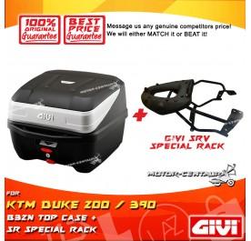 GIVI B32N TOP CASE + GIVI KTM DUKE 200 / 390 SRV SPECIAL RACK