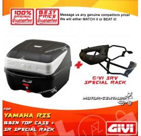 GIVI B32N TOP CASE + GIVI YAMAHA R25 2015 SRV SPECIAL RACK