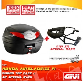 GIVI B360N TOP CASE + GIVI HONDA AIRBLADE125 FI SRV SPECIAL RACK