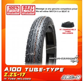 ARC-V TYRE A100-HP 2.25-17 WITH FKR TUBE