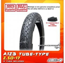ARC-V TYRE A123 2.50-17 WITH FKR TUBE