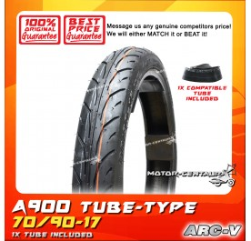 ARC-V TYRE A900 70/90-17 WITH FKR TUBE