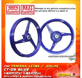 COMSTAR SPORT RIM CT-03 1.60X17(F) 1.85X17(R) LC135 BLUE