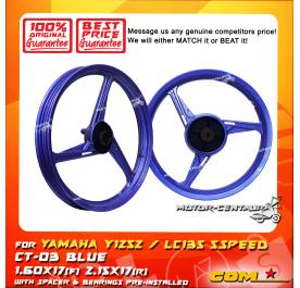 COMSTAR SPORT RIM CT-03 1.60X17(F) 2.15X17(R) Y125Z BLUE