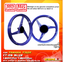 COMSTAR SPORT RIM CT-03 1.60X17(F) 1.85X17(R) Y15ZR (125Z) BLUE