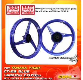 COMSTAR SPORT RIM CT-03 1.60X17(F) 2.15X17(R) Y15ZR (125Z) BLUE