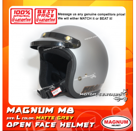 MAGNUM HELMET M8 MATT GREY L