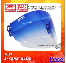 BOGO VISOR A51 (ARC RITZ) 2-TONE BLUE