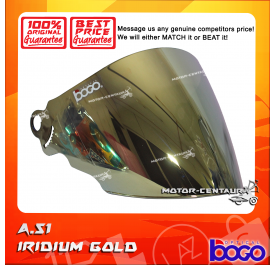 BOGO VISOR A51 (ARC RITZ) IRIDIUM GOLD