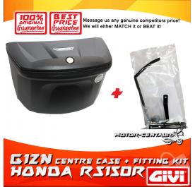 GIVI G12N CENTRE CASE + FITTING KIT FOR HONDA RS150R