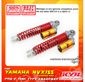 KYB KAYABA PRO-X REAR GAS SHOCK ABSORBER PX1001RG YAMAHA NVX155 RED (L & R)