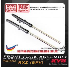 KYB KAYABA FRONT FORK DAMPER COMP ASSY DA1007/DA1008 YAMAHA RXZ / CATALYZER (DISC) (L & R)