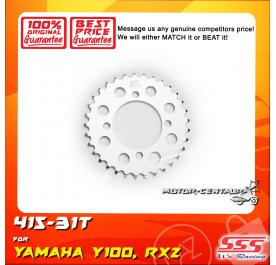 SSS REAR SPROCKET STEEL Y100 415-31T