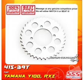 SSS REAR SPROCKET STEEL Y100 415-39T